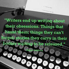 Writing through what haunts us...