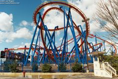Superman at Six Flags Great Adventure