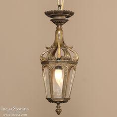 Antique Lighting | Antique Chandeliers | Bronze Baroque Lantern Chandelier | www.inessa.com
