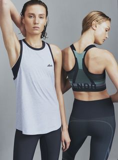 ff1364f2be8e0 Hook Tank and Spectrum Sports Bra with matching leggings  LNDR Surf Shorts