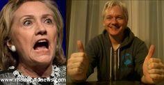 Julian Assange Gets Sweet Revenge After Hillary Cuts His Internet