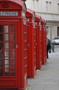 Cabinas de telefono / London