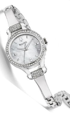 Bulova Watches - Crystal - 96L128 Bulova Ladies Watch