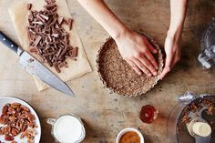 5 Ways to Upgrade Your Pie Crust: Go nuts for nuts. #food52
