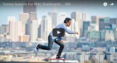 Tommy Guerrero todavia patinando las mismas calles que se patinaban en los 80's en este clip para Real Skateboards. #keeprollin'