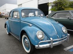 1959 Volkswagen Beetle - I need one, we were both 'born' the same year! Shared by Kim at www.highroadorganizers.com