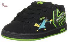 Etnies Disney Kids Fader-K, Baskets mode mixte enfant, Noir (Black/Green 985), 47.5 EU - Chaussures etnies (*Partner-Link)