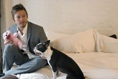 Norman and another doggy Boston!