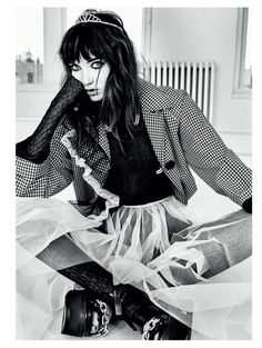 Grace Hartzel stars in Vogue Russia March 2016 issue