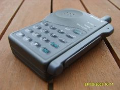 Sony CM R111 - My first mobile phone, short on features but it worked !