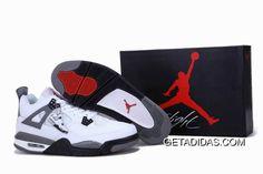 the latest e8a80 1fea9 Air Jordan 4 White Grey Black TopDeals, Price   78.49 - Adidas Shoes,Adidas  Nmd,Superstar,Originals