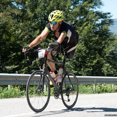 Cycling over the Pyrenees with one leg. Christian Haettich - such an amazing man. | BBC News