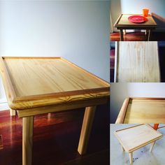 Custom table complete! That's right. Wood Vs Paper can make/create customised orders. Contact woodvspaper@gmail.com #woodvspaper #dowoodworking #woodwork #furniture #kidsfurniture #supportlocal #handmade #brisbane #etsy #diningtable #gamestable de woodvspaper