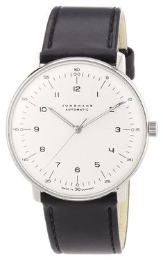 Junghans Men's 'Max Bill' Automatic Stainless Steel and L... https://www.amazon.com/dp/B000KB0QEE/ref=cm_sw_r_pi_dp_x_nTxPybW1NXH7B