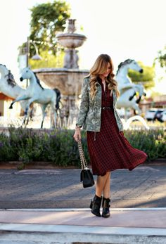 A Little Dash of Darling: Plaid and Camo