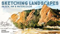 Enjoy sketching landscapes more than ever! Learn pen, ink and watercolor techniques that will help you achieve your most rewarding results.