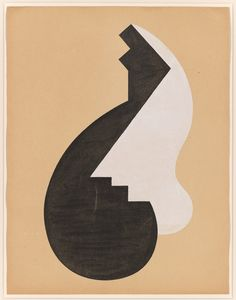 Isamu Noguchi (1904-1988), Paris Abstraction, 1927-28. Opaque watercolor and graphite pencil on paper, sheet: 25 1/2 × 19 3/4 in. (64.8 × 50.2 cm), Whitney Museum of American Art, New York; gift of The Isamu Noguchi Foundation, Inc.  94.33 © artist or artist's estate