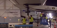 Récord, Solar Impulse 2 completó un vuelo trasatlántico - http://j.mp/2907G2s - #Avion, #EnergíaSolar, #Noticias, #SolarImpulse2, #Tecnología
