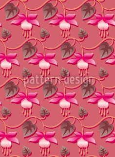 Pink Fuchsia created by Martina Stadler offered as a vector file on patterndesigns.com