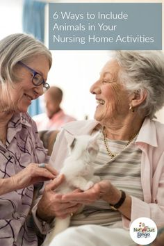 Ever wondered how to incorporate pets into your senior activity program? If so, then keep reading to learn 6 ways to use animals in your senior activities!