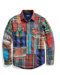The Iconic Western Overshirt Hippie Style, Style Vintage Hommes, Jaden Smith Fashion, Casual Shirts For Men, Men Casual, Umgestaltete Shirts, Sport Outfits, Cool Outfits, Quilted Clothes