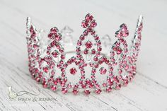 Newborn Baby Girl Tiara Crown - Crystal Crown - Castalie - Newborn Baby Girl Infant Tiara Crown by wrenandribbon on Etsy https://www.etsy.com/listing/158894220/newborn-baby-girl-tiara-crown-crystal