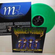 MILLENCOLIN for monkeys LP Record GREEN Vinyl with lyrics insert #punkPunkNewWave