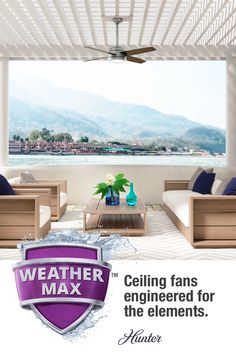 45 Outdoor Spaces Ideas In 2021 Patio, What Is The Best Outdoor Ceiling Fan For Salt Air