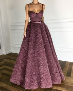 Raspberry Glace TMD Gown