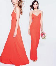 Carly drapey matte crepe dress and aubrey drapey matte crepe dress