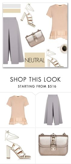 """Personal style 3 <3"" by aryana-280 ❤ liked on Polyvore featuring Alexander McQueen, Vilshenko, Valentino, polyvoreeditorial and topset"