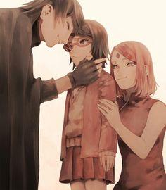 Sasusaku family