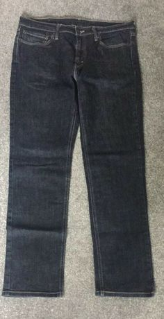 b422d65dbfd Levi's 514 lot of 2 pair men's 33 x 30 black blue *SEE CONDITION ...