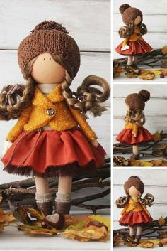 Вот еще подборка с чудесными куколками!! Смотрите. какие они разные-какие милые!
