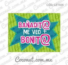 """Letrero para fiestas """"Bañadit@ me veo más bonit@""""Letrero para fiestas, Letrero para fotos resistente al agua, encuéntralo en https://www.coconut.com.mx/collections/letreros-para-fiestas y obtén tu envío gratis a partir de $500 en la república mexicana Síguenos en Facebook https://www.facebook.com/coconutstoremx/ #Wedding #Despedidadesoltera #BacheloretteParty #BachelorParty #Party #Friends #Photobooth #Photos #Fotos"""