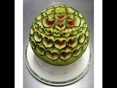 Cách tỉa dưa hấu nghệ thuật | Best Watermelon carving demonstration
