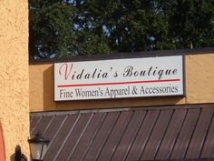 3'x10' Lighted Display Sign  Vidalia's Boutique - (Now Versatile Styles) St. Andrews Rd; Columbia, SC