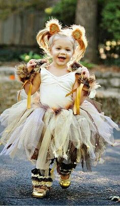 Cute Lion Costume For Girls