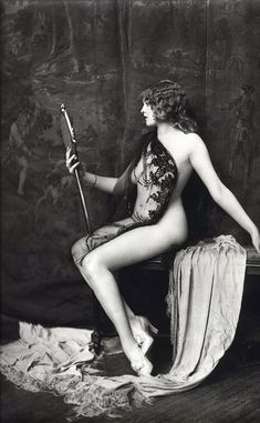 Dancer from the Ziegfeld Follies (1920s)