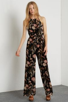 1ef5aaad42b GYPSY FLORAL JUMPSUIT Long Jumpsuits, Playsuits, Jumpsuits For Women,  Wedding Jumpsuit, Floral