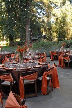 outside fall decorating ideas   Awesome Outdoor Fall Wedding Decor Ideas   Weddingomania: