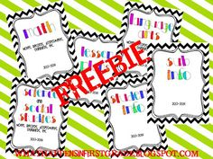 "FREE binder covers from ""What Happens in First Grade"" Too Cool For School, Back To School, School Stuff, School Plan, School Ideas, Teacher Planner, Binder Covers, Classroom Organization, Classroom Ideas"