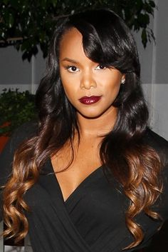 LeToya Luckett's two-toned locks at Voli Light Vodka's Holiday Party in West Hollywood are proof that the ombre trend is here to stay.