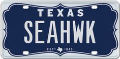 #Seattle fans in Texas will love this plate!