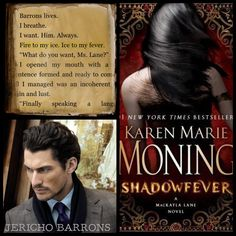 Jericho Barrons Fever series by Karen Marie Moning JZB