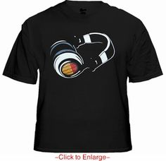 T-Phones EQ Equalizer Sound Reactive T-Shirt. The T-phones Shirt has a built-in graphic equalizer with a wide spectrum sensor controller to detect the true rhythm frequency and beat of music. Price $24.99