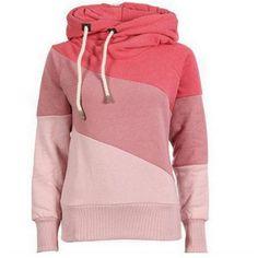 Triple Color Women's Hoody Jackets