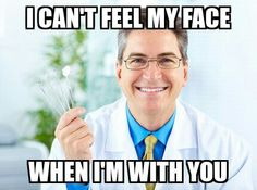 Dental meme, oh so clever.