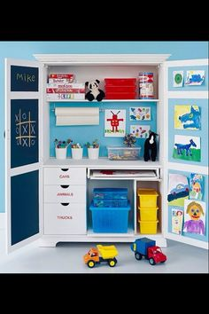 activity cupboard