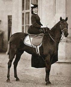 Sissi à cheval